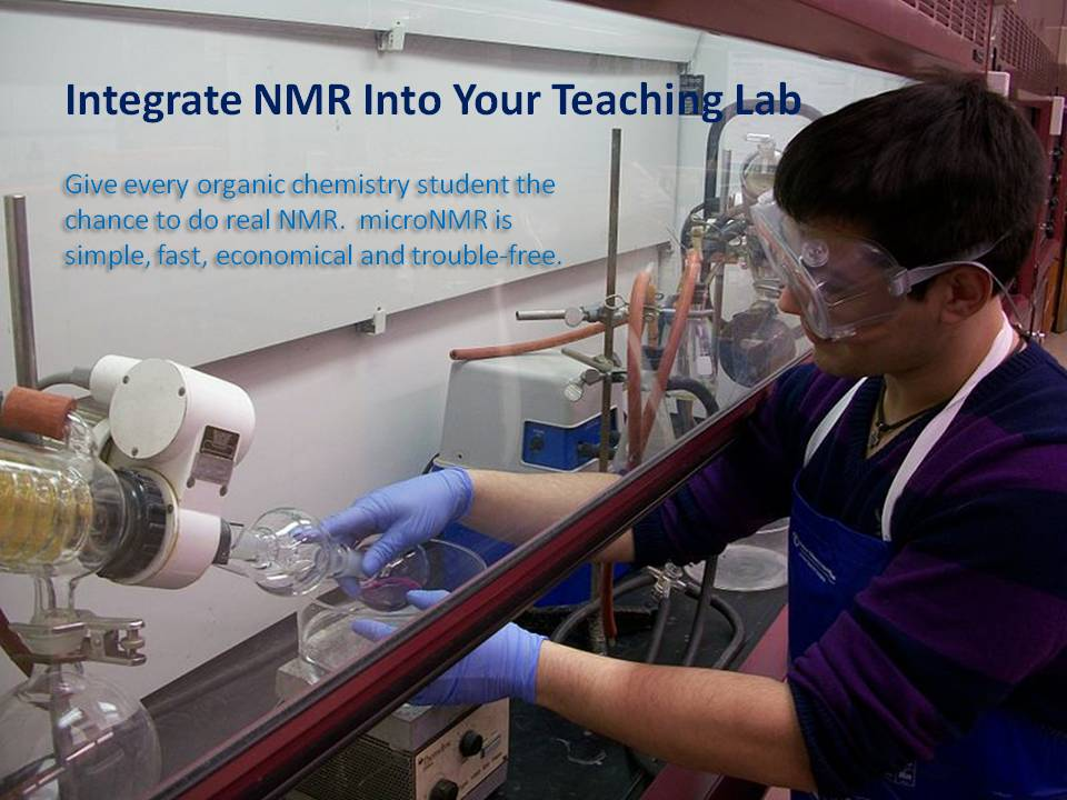 NMR is for students!